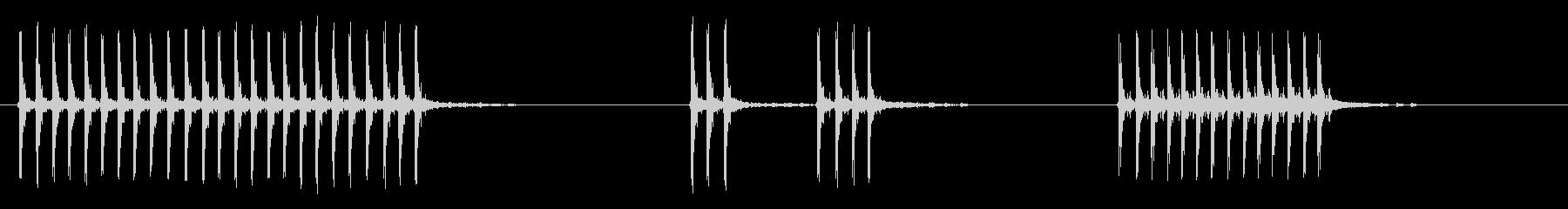 ブラウニングM1919マシンガン:...の未再生の波形