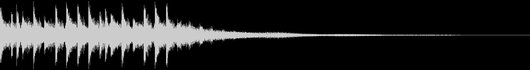 キャッチーEDM・ADMジングル9の未再生の波形