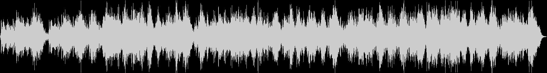 シンセ中心のよく眠れるアンビエントの未再生の波形