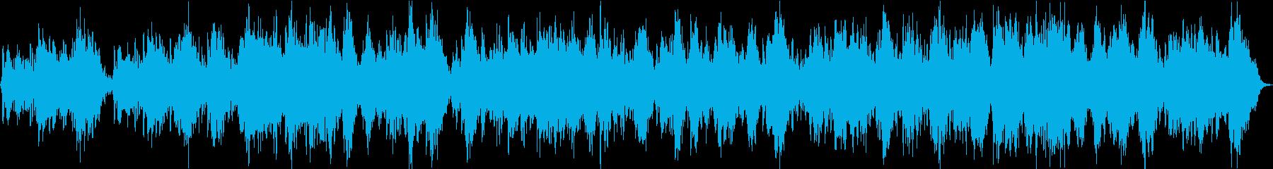 シンセ中心のよく眠れるアンビエントの再生済みの波形
