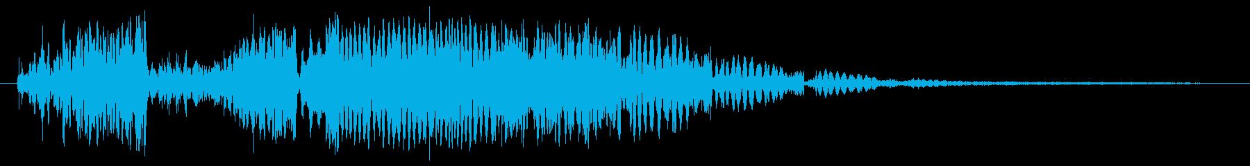 アナログリングの再生済みの波形