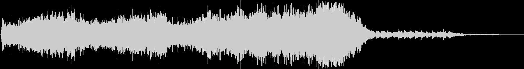 Cold Lake 30秒メロディー無しの未再生の波形