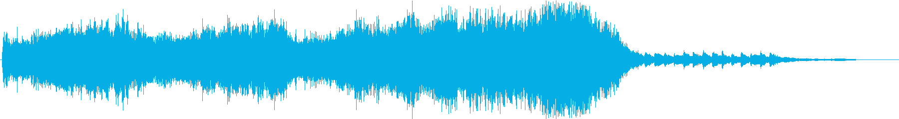 Cold Lake 30秒メロディー無しの再生済みの波形
