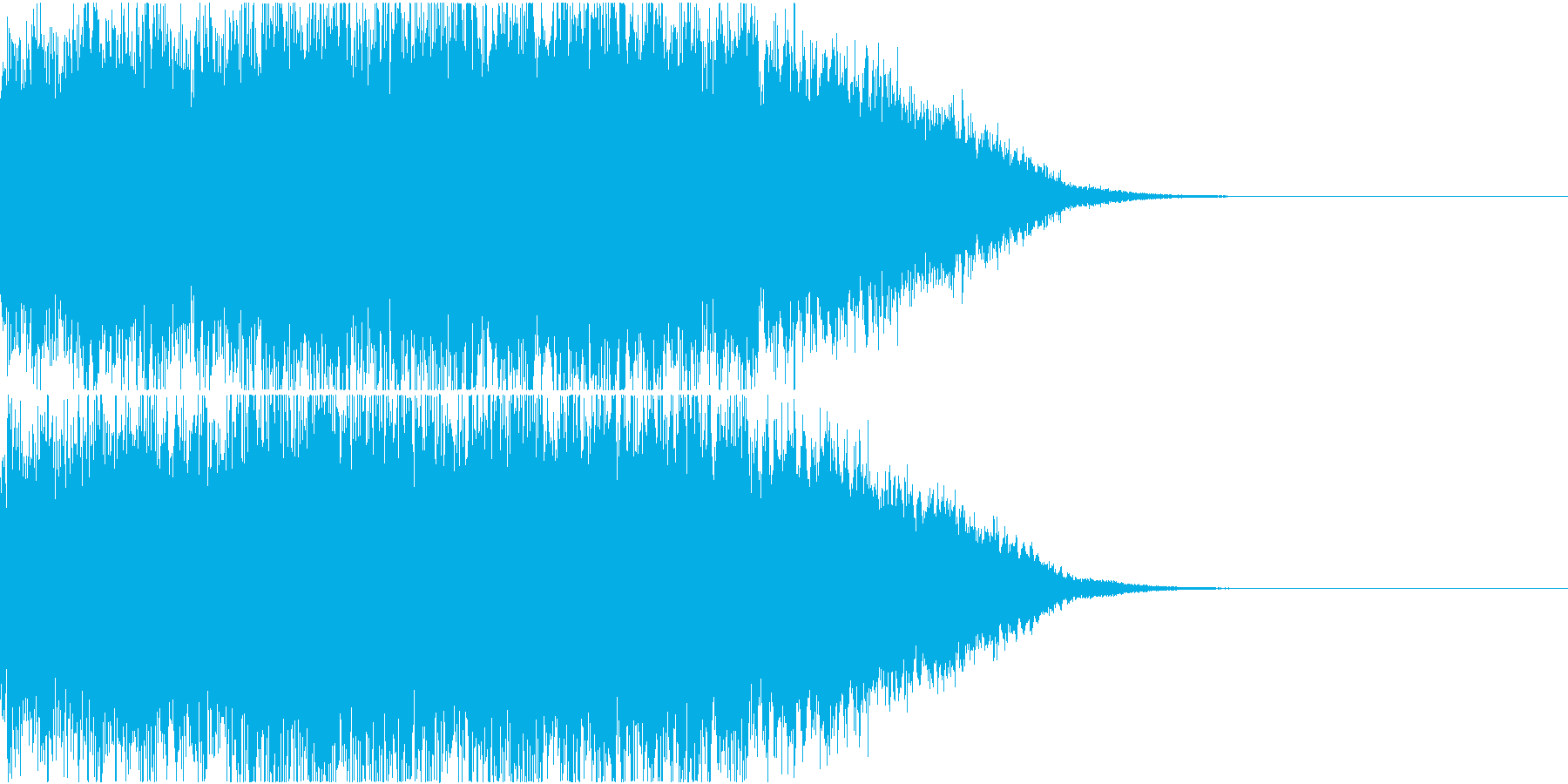 上昇音・ギュイーン・キュイーンの再生済みの波形
