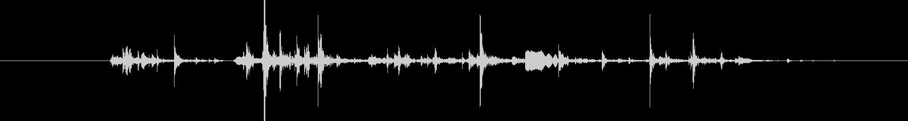水音45の未再生の波形