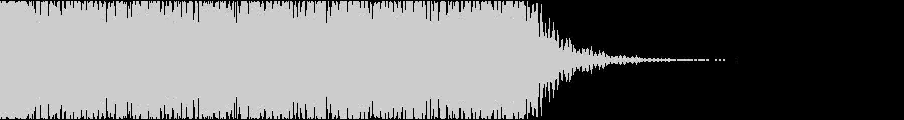 【エレクトロニカ】電子テクノ、ジングル2の未再生の波形