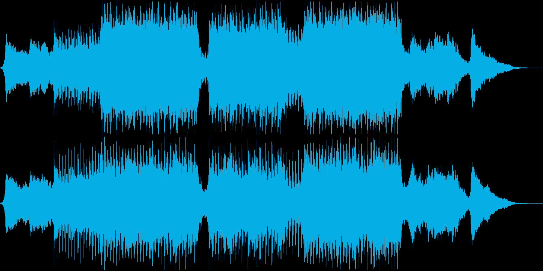 企業VP・映像・ポジティブ爽やかポップ3の再生済みの波形