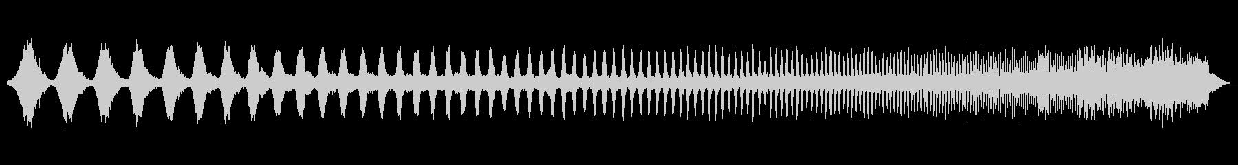 上昇 ダブステップウォブルハイ01の未再生の波形
