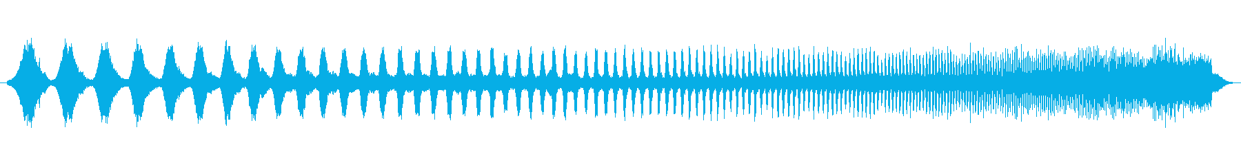 上昇 ダブステップウォブルハイ01の再生済みの波形