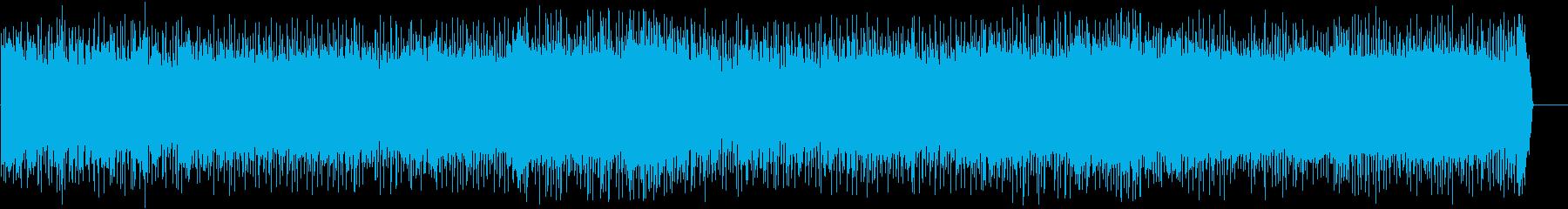 爽快に疾走するポップ(フルサイズ)の再生済みの波形