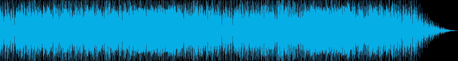 ファンキーで爽やかなハネ系リズムのポップの再生済みの波形