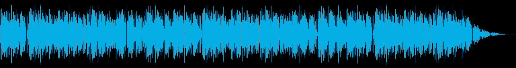GB風対戦格闘ゲームのED曲の再生済みの波形