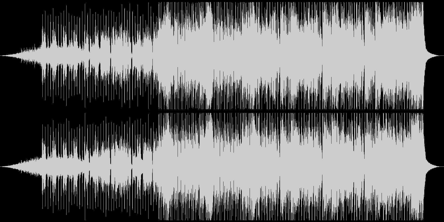 ディスコ風のオープニングジングルの未再生の波形