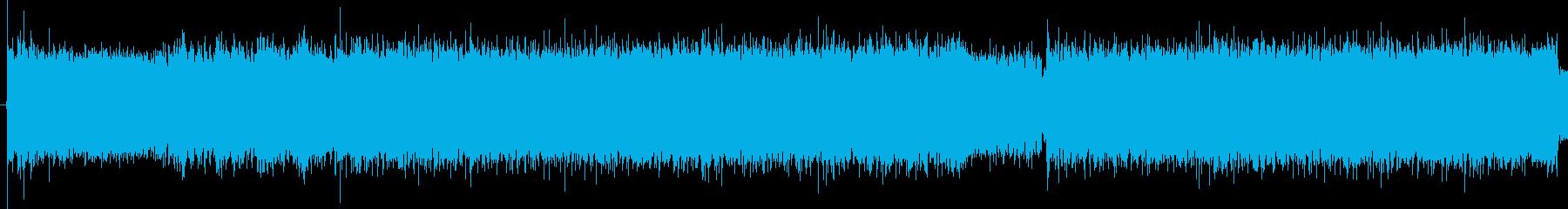 サイケな要素があるRockです。の再生済みの波形