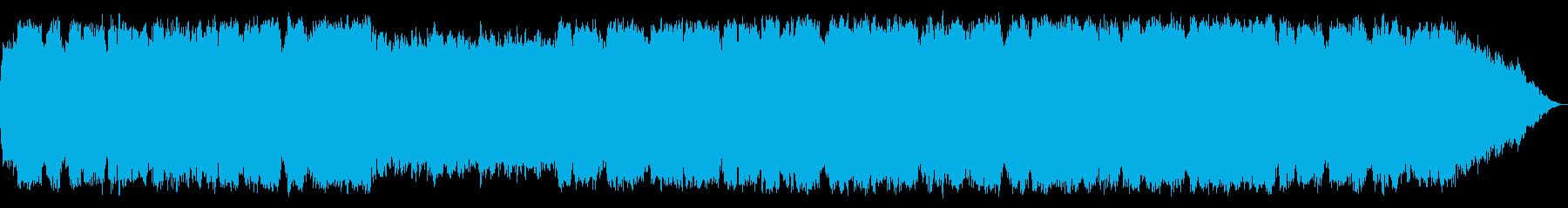 哀愁ある笛の音楽の再生済みの波形