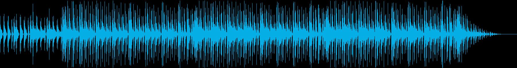 夜のバーで流れていそうなジャズ風曲です。の再生済みの波形