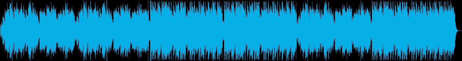 切ないシンセ・オルゴール系サウンドの再生済みの波形