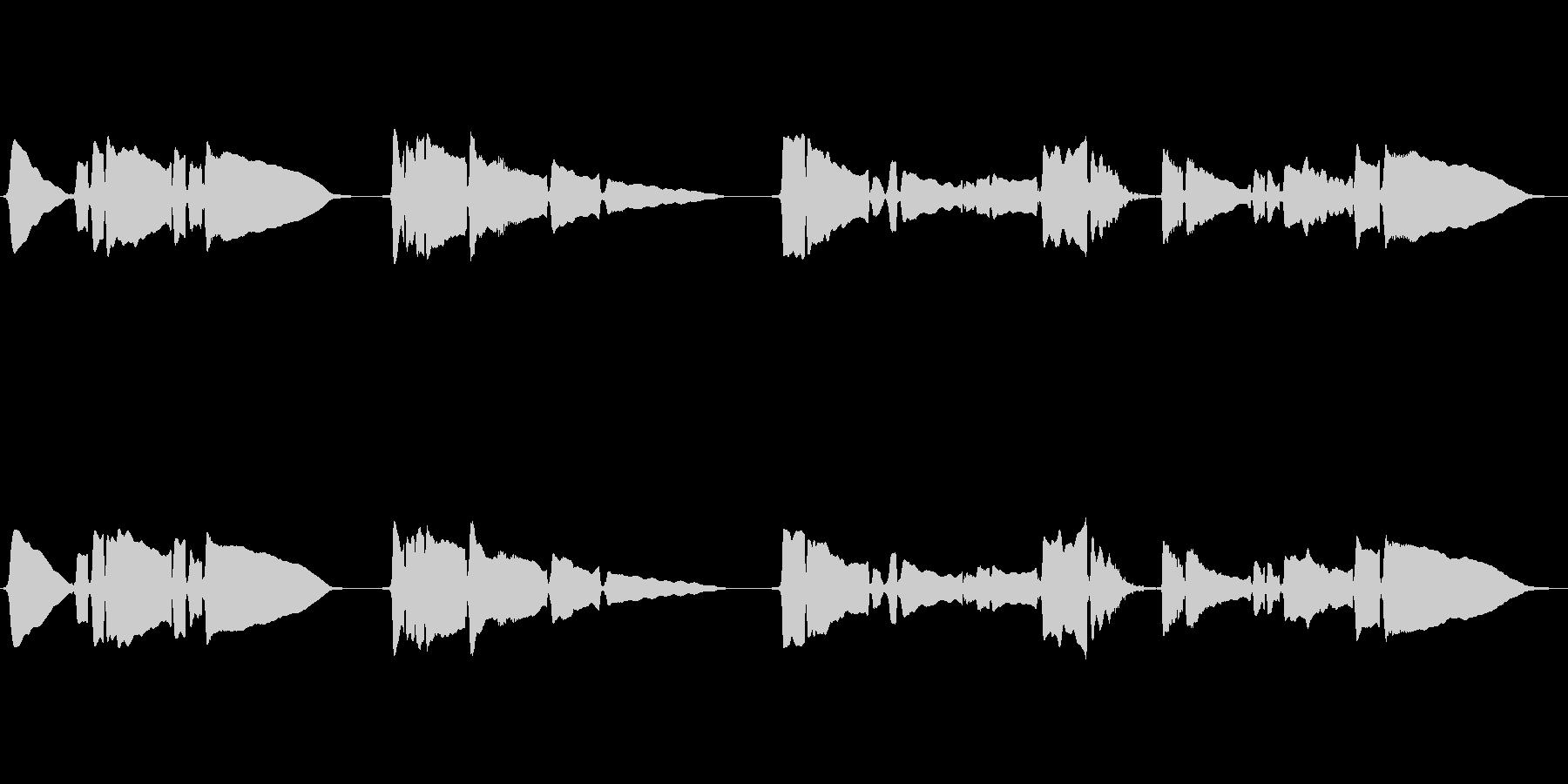 SAX一本の曲です、の未再生の波形