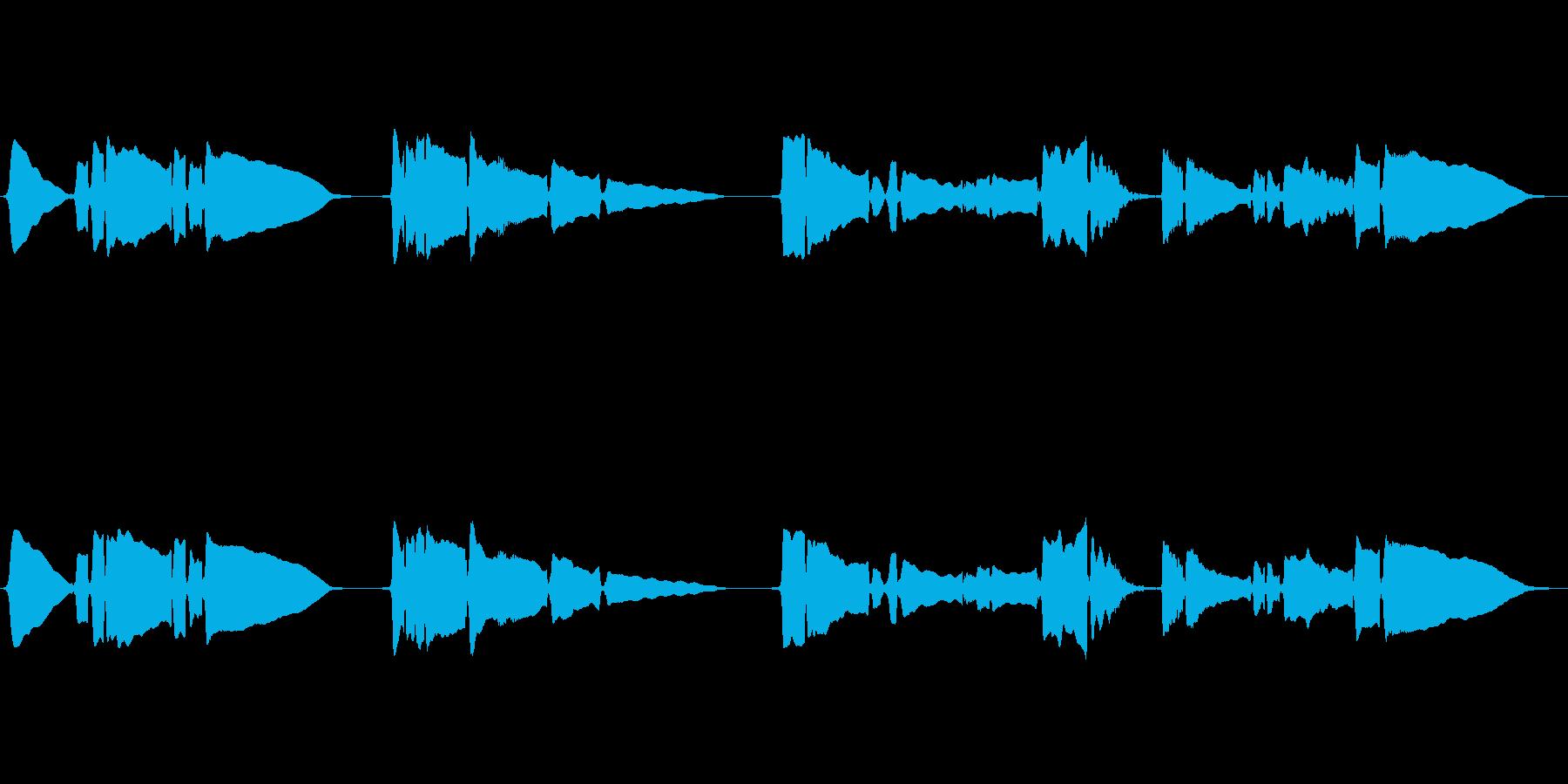 SAX一本の曲です、の再生済みの波形