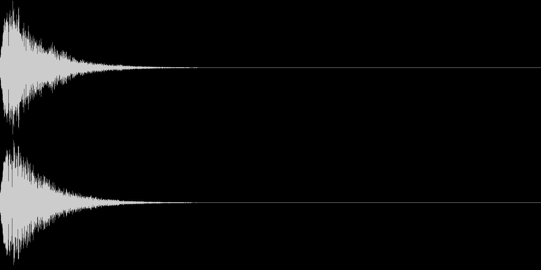 光る キュイーン ピカーン キラン 06の未再生の波形