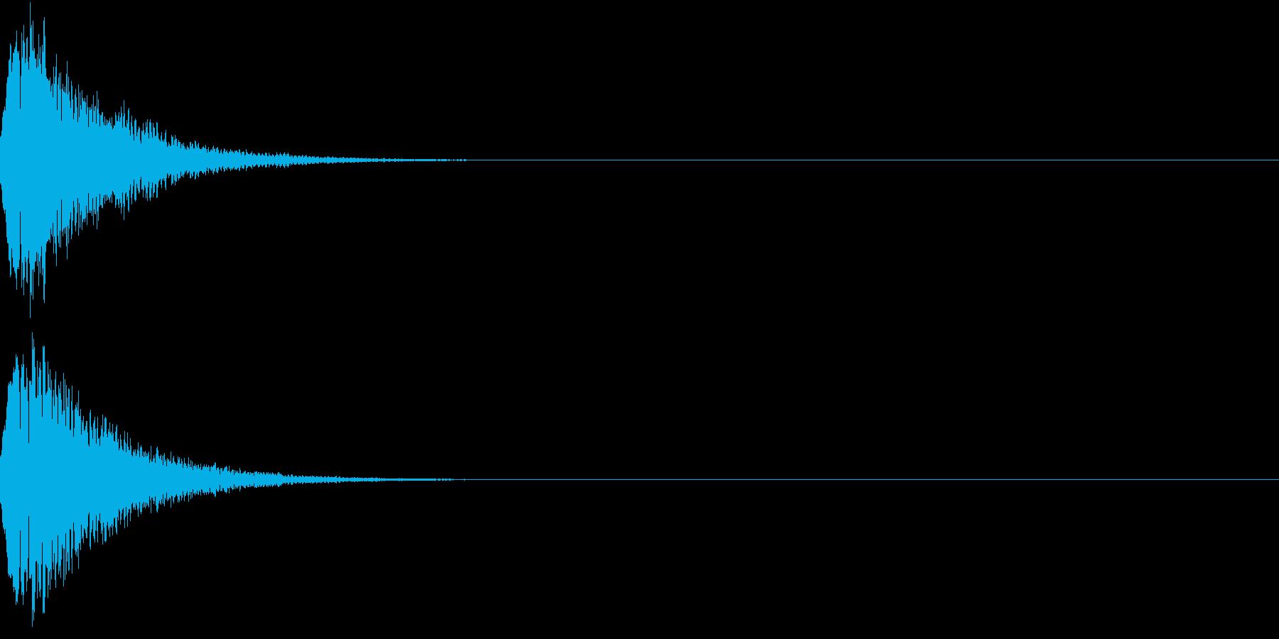 光る キュイーン ピカーン キラン 06の再生済みの波形