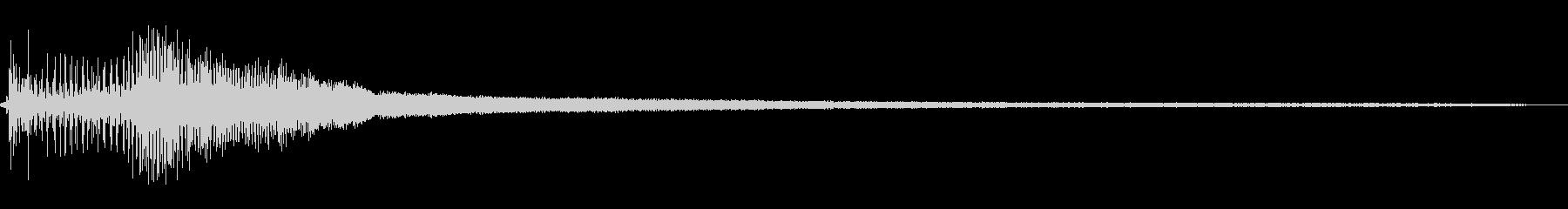 25 HPアウトボード:スタート、...の未再生の波形