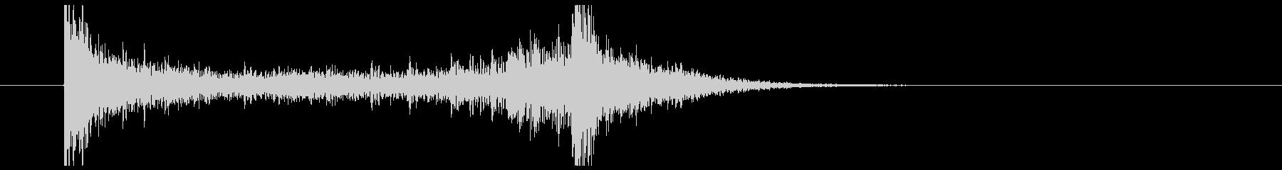ティンパニーロール(2秒)の未再生の波形