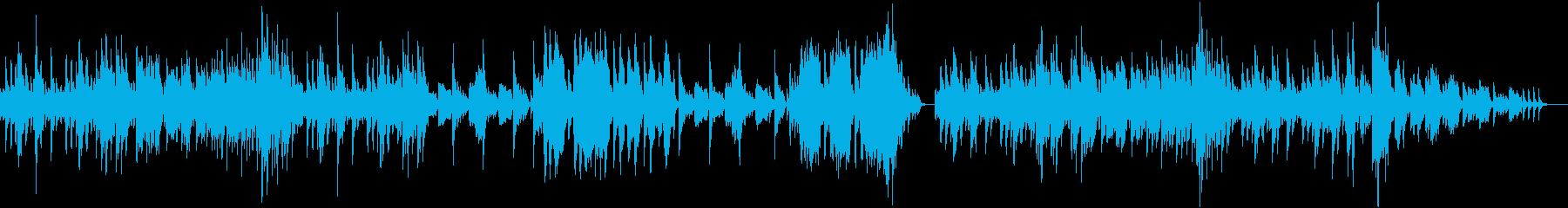 チャイコフスキー四季より1月炉端にての再生済みの波形