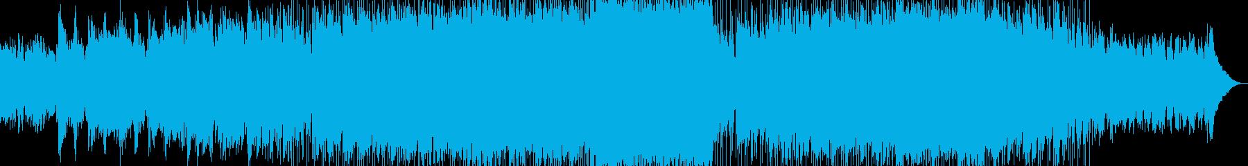 アコギアルペジオからのクラプトン風の再生済みの波形