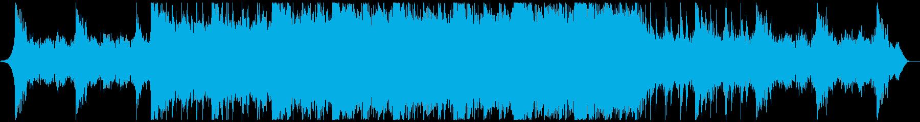 現代的 交響曲 広い 壮大 緊張感...の再生済みの波形