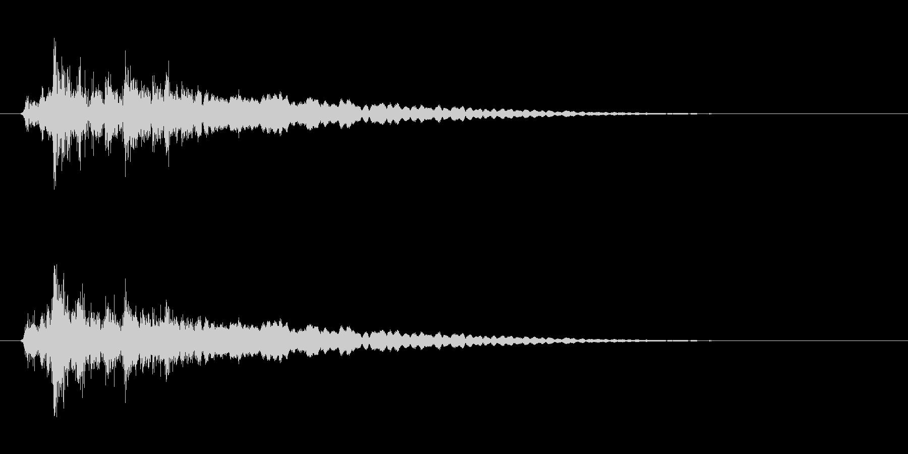 レジの音_チーン_05の未再生の波形