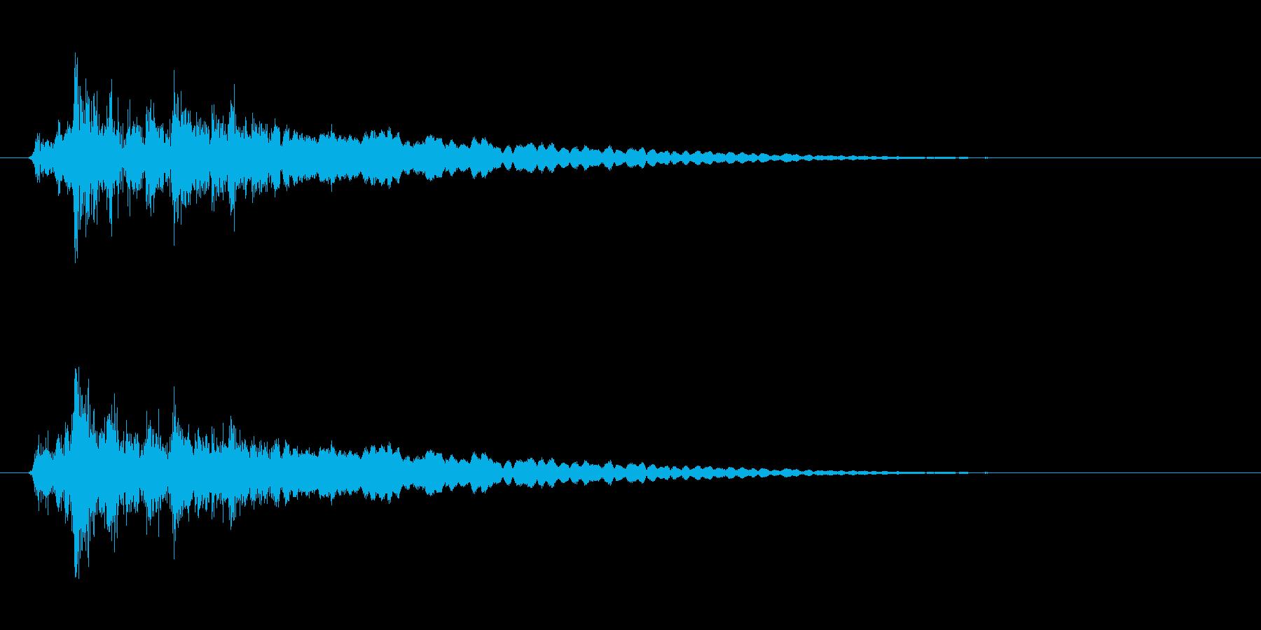 レジの音_チーン_05の再生済みの波形