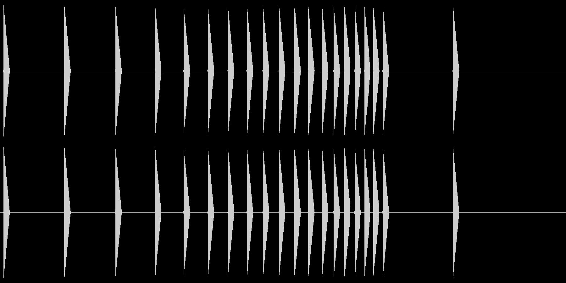 鼓(つづみ)ファミコン系 Tsuzumiの未再生の波形