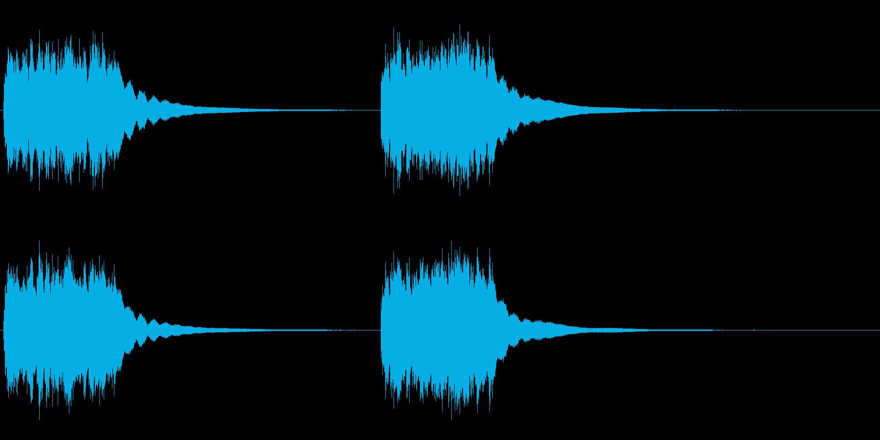アンティークプッシュボタン電話:2...の再生済みの波形
