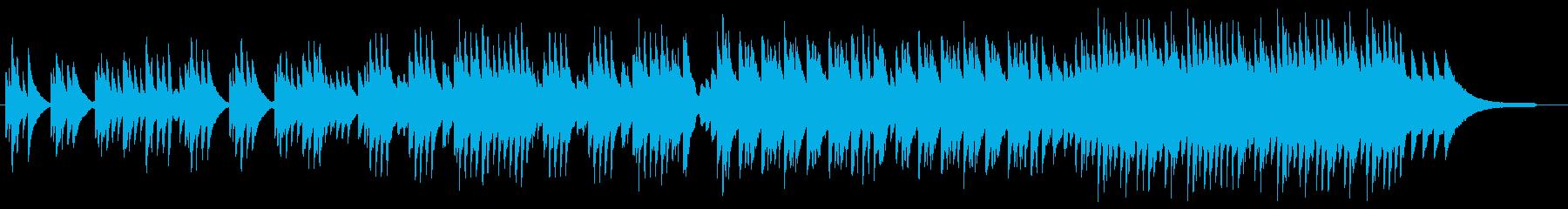 初恋を表現したピアノソロ曲の再生済みの波形
