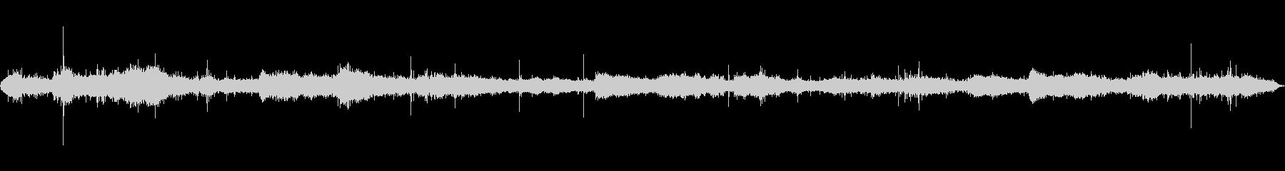 波の音を近距離で録音したものの未再生の波形