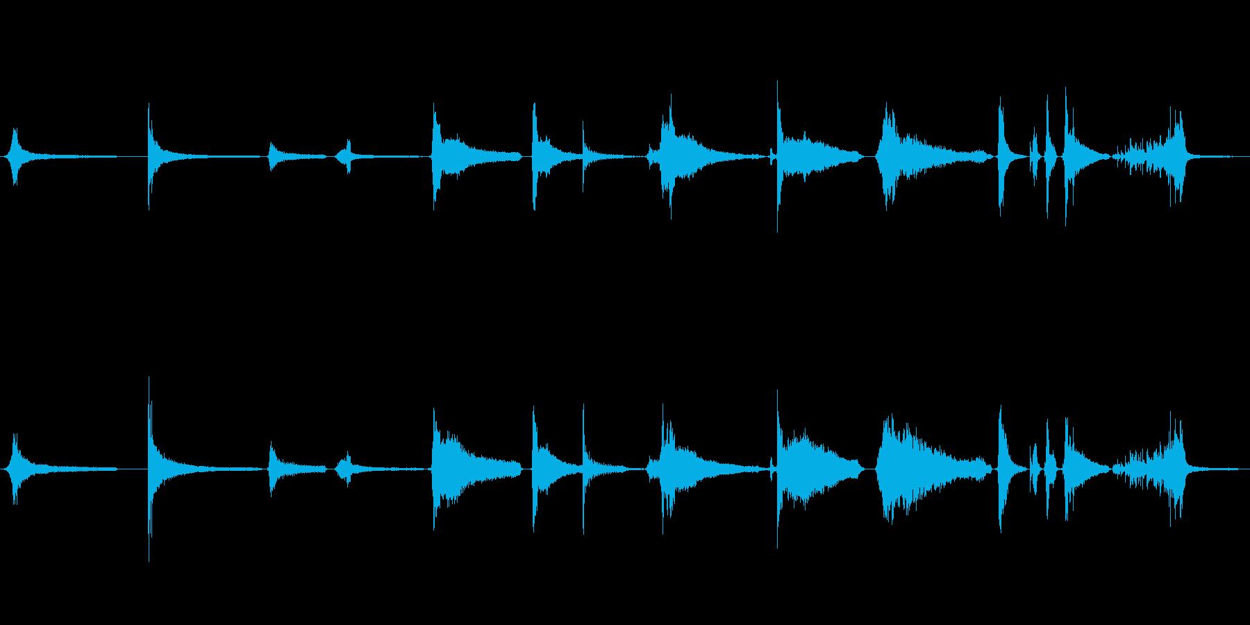 ホラーグランドピアノストリングエフ...の再生済みの波形