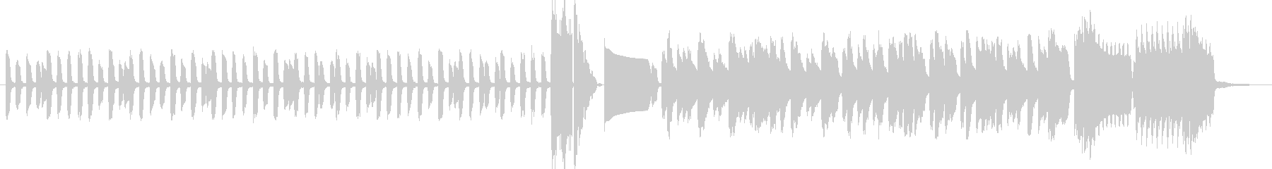 昔ながらのレトロゲームサウンドの未再生の波形
