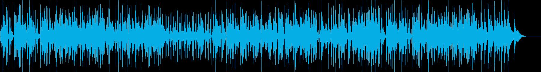 リラックスできるピアノスイングジャズの再生済みの波形