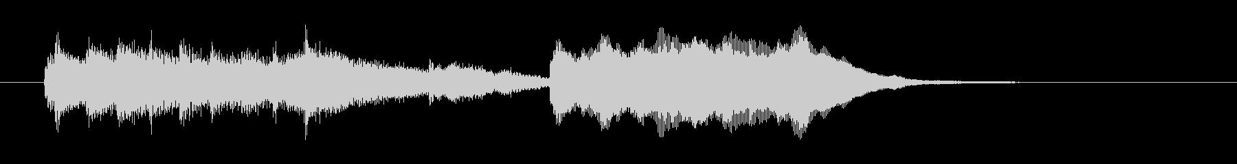 ファンシーな響きのシンセBGMの未再生の波形