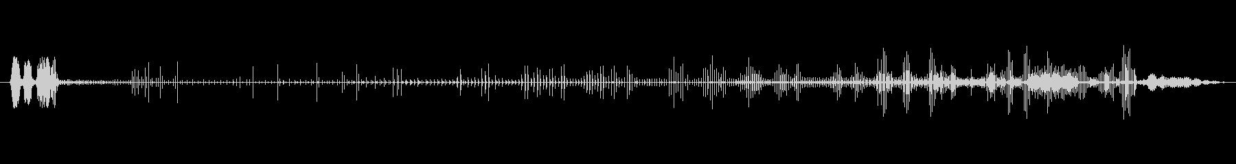 ノイズ オーガニックグリッチライザー02の未再生の波形