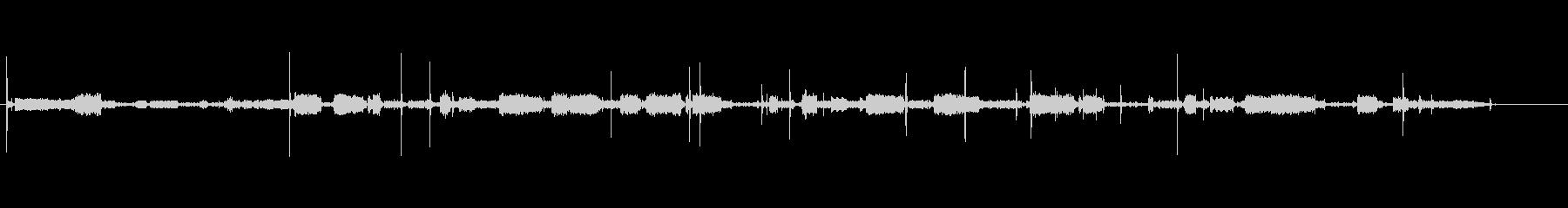 ビデオゲーム-レーザー音の未再生の波形