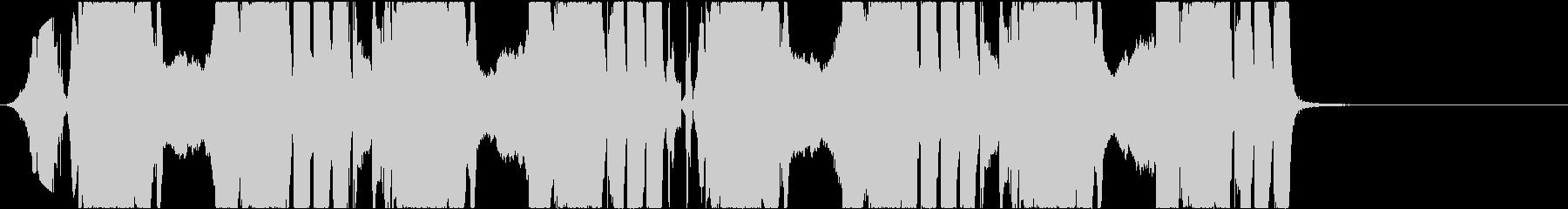 ジングル向け ショートバージョン1の未再生の波形