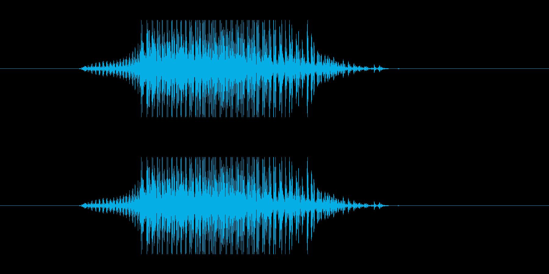 2(クレイジー)わーお!の再生済みの波形