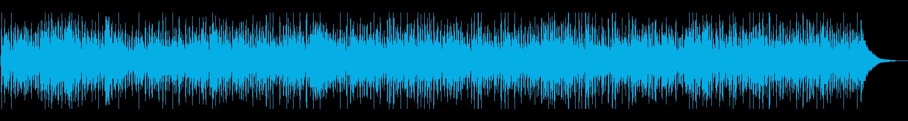 ファンキーでおしゃれな大人エレピジャズの再生済みの波形