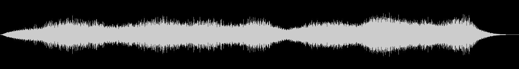 異次元エネルギーリングの未再生の波形