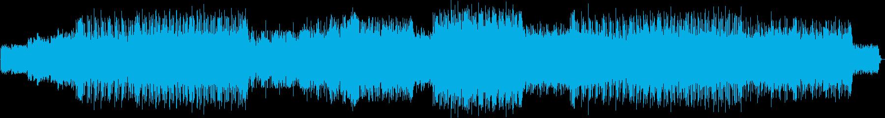 トルク感のあるフュージョンテクノの再生済みの波形