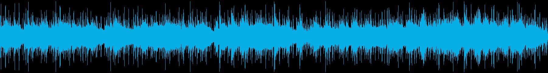 90年代ドラマの挿入曲風BGM【ループ】の再生済みの波形