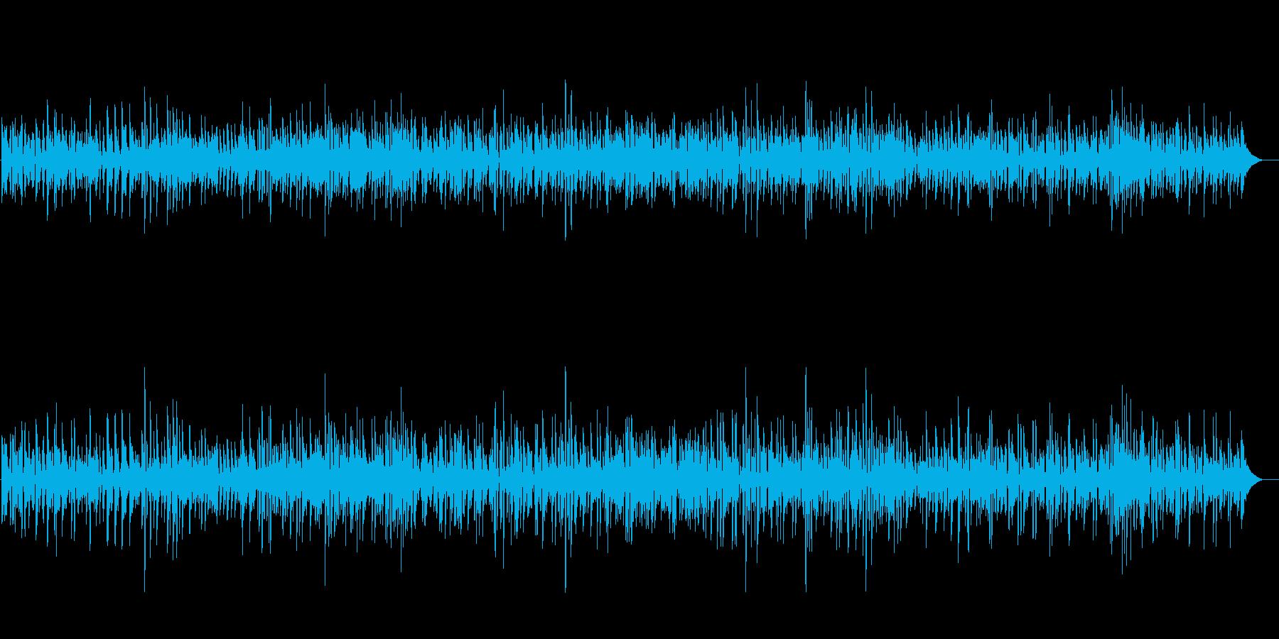 お洒落なジャズギター★映像・CM・PVの再生済みの波形