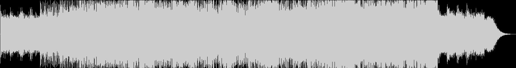 低音メインの現代音楽の未再生の波形